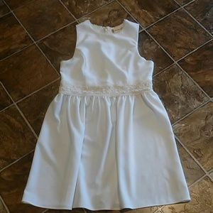 Altar'd State White Dress Size: Large